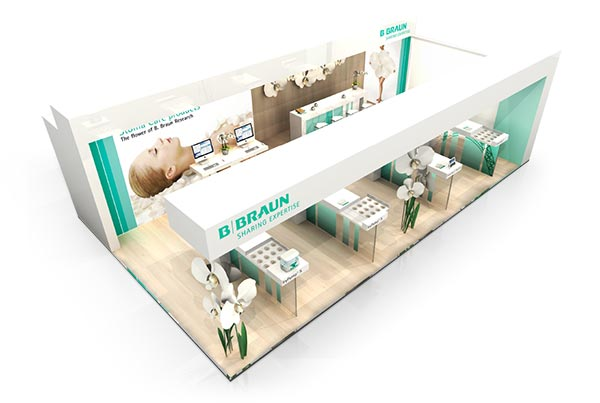 Conception de stands d'exposition sur-mesure