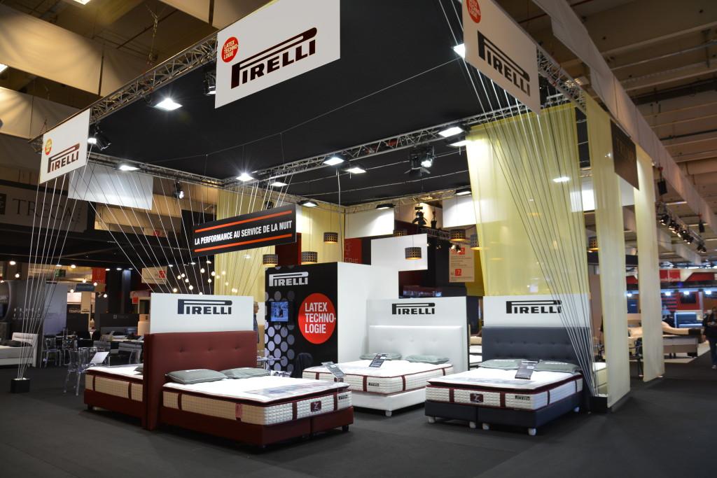 Stand Pirelli Foire de Paris