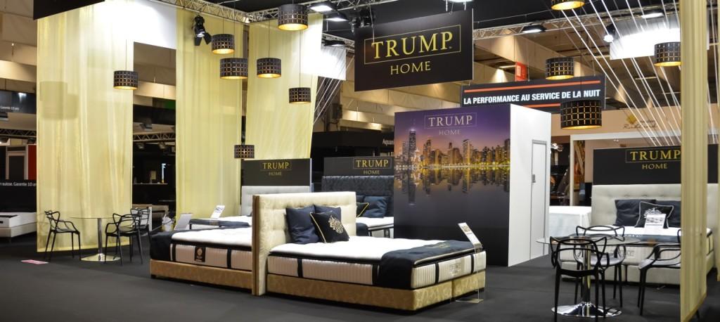 Stand Trump Foire de Paris